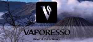 Banner Vaporesso 3D weiss